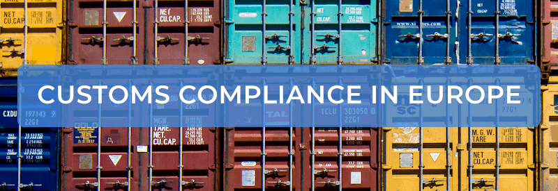 Nielsonsmith - Customs Compliance in Europe banner